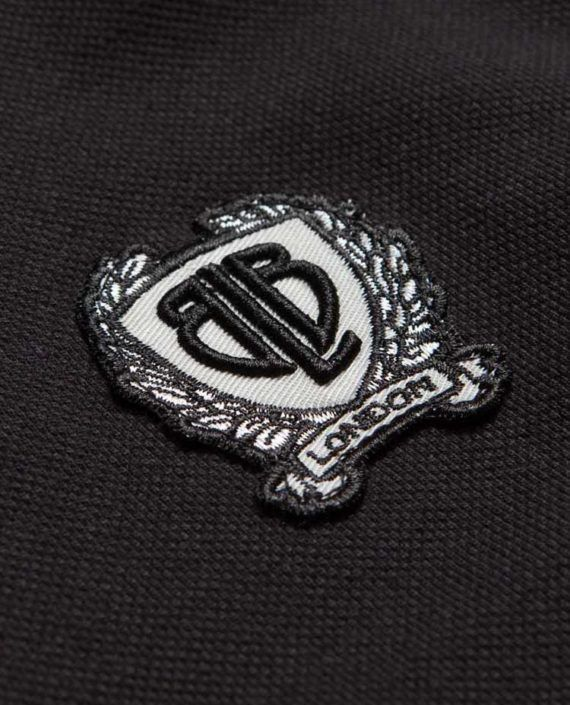BadgePolo-BLK-detail